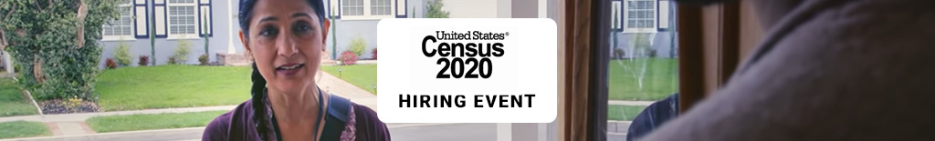 Census2020 event image